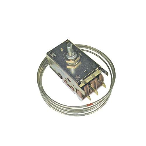 Thermostat Kühlthermostat 3-Sterne-Kühlschrank mit automatischer Abtauung Original Ranco K59-L2589 920mm Kapillarrohr 3x6,3mm AMP Electrolux AEG General Electric 3ART229A107 Küppersbusch EFS 615008857 -