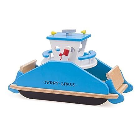 New Classic Toys 10901 – Holzspielzeug, Fährschiff