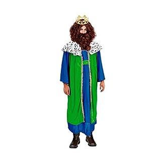 Partilandia Disfraz Rey Mago Gaspar Hombre Adulto para Navidad