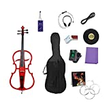 Elektro-Cello-Student 4/4 Cello-Musikinstrument High-End-Leistung...