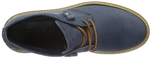 Ecco Damen Elaine Flatform Chukka Boots Blau (denimblue / Whisky 59969)