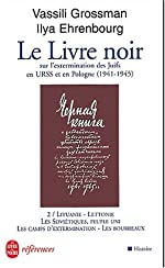 Le Livre noir, numéro 2 d'Ilya Ehrenburg