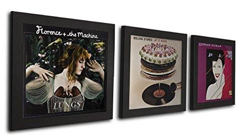Cornice Art Vinyl  flip & frame confezione tripla nera