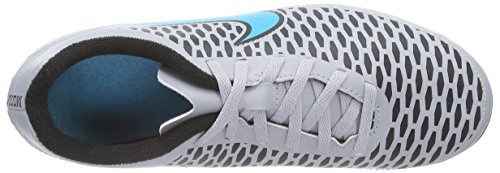 Nike Jr Magista Ola Fg-r, Chaussures de Football Homme Gris - Grau (Wolf Grey/Trqs Blue-Blk-Blk 040)