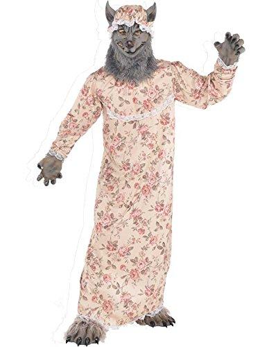 Grandma wolf unisex costume - size standard