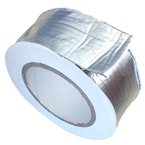B Baosity Hitzebeständiges Aluminium Klebeband 5m - 50x1,5 mm