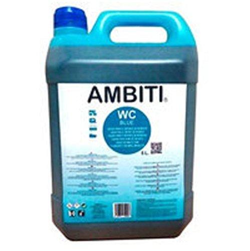 Ambiti Blue 5 L. Abwasserzusatz, Abfalltank, Sanitärflüssigkeit