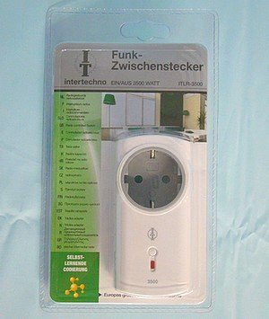 Intertechno ITLR-3500 Funk-Zwischenstecker - 2