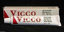 10 X Vicco Vajradanti Dental Toothpaste Ayurvedic Herbal 100g X 10 = Net.1000g
