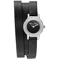 "Thomas Sabo Watches, Damenuhr ""SOUL FOREVER"", Edelstahl; Leder, WA0157-261-203"