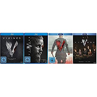 Vikings Staffel 1-4.1 (1+2+3+4.1) / Blu-ray Set