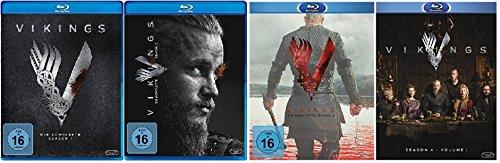 Produktbild Vikings Staffel 1-4.1 (1+2+3+4.1) / Blu-ray Set