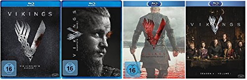 Preisvergleich Produktbild Vikings Staffel 1-4.1 (1+2+3+4.1) / Blu-ray Set