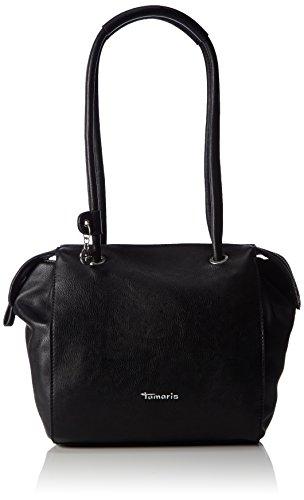 Tamaris Damen DENISE Bowling Bag Bowlingtaschen, Schwarz (black 001), 24x25x10 cm (Frauen Größe 10 Bowling-schuhe)