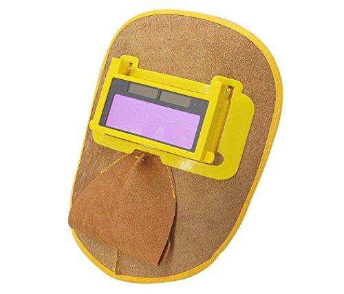 Características: Instalado la lente de la PC, puede detener eficazmente los rayos ultravioleta. La máscara es ligera y anti-chispa. La máscara es delicada, fina, estable, duradera y confiable. Será más cómodo usar esta máscara que usar otras máscaras...