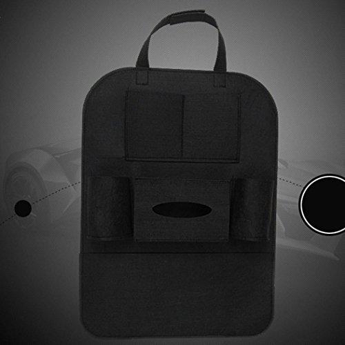 Auto Back Seat Tasche Lagerung Organizer Halter Phone 4. aus Wolle