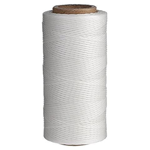 Candora 260M Sewing Waxed Thread 1MM For Chisel Awl Upholstery