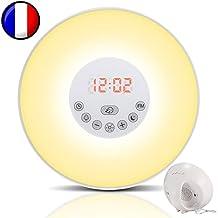 Simulador de amanecer para un despertar luminoso en calma - Duerma mejor con el modo Noche Oscura - Experimente mañanas más zen - Wake-up light modelo TL850 por Top Life