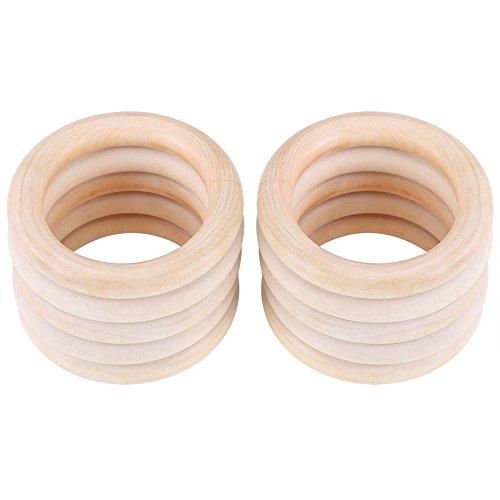 Baby Beißringe Natural Wood Teether Zahnen Ringe für Babys Kinderpflege 10pcs
