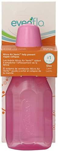 evenflo-company-1113311-4-oz-assorted-colors-classic-plastic-bottles
