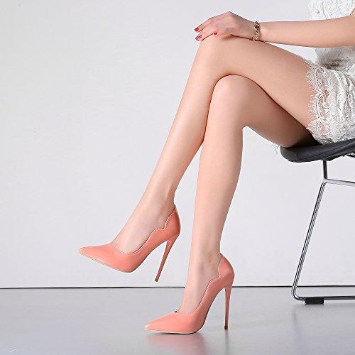 Guoar , Coupe fermées femme Pink Lack