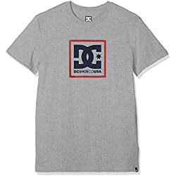DC Shoes Odess tee-Shirt, Hombre, Grey Heather, L