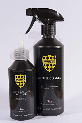 Protex Mundo Cuero Limpiador&Restaurador Color - (Crema)
