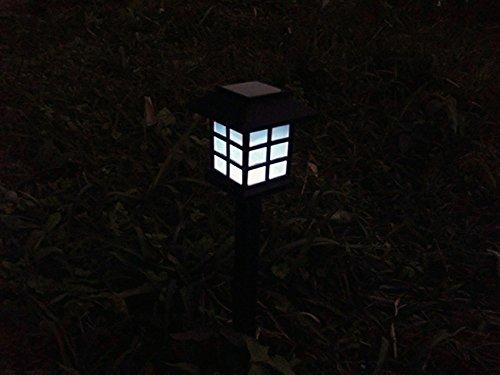 Cuzile outdoor luci da giardino ad alimentazione solare lampada