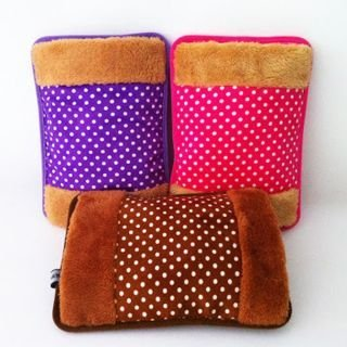Hej Electric Hot Bag, Hand Warmer, Electric Heater Warm Bag, Heating Gel Pad Fur Velvet With Hand Pocket Pain Relieve