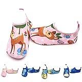 LYworld Chaussures de Plage Enfant Chaussures d'eau Enfant Bébé ChaussuresFilles Garcon Chaussures Aquatiques Chausson pour Piscine et Plage (26/27 EU, Cerf)