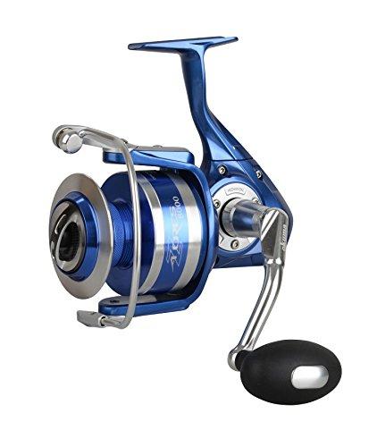 Okuma Azores S-5500 Rolle - 210m 0,35mm Schnurfassung, Spinnrolle, Angelrolle zum Spinnfischen & Meeresangeln, Meeresrolle, Salzwasserrolle, Pilkrolle, Rollen zum Meeresfischen