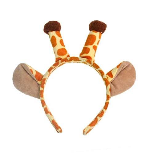Traje Halloween jirafa animal diadema Banda fiesta
