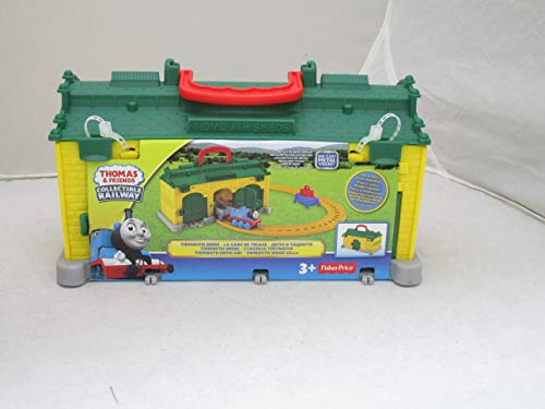 Fisher Price Toy - Thomas and Friends Collectable Railway - Portable Tidmouth Sheds Playset