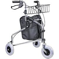 Aidapt Tri Walker - Deambulatore a 3 ruote con borsa