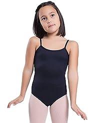 Happy Dance 1006 - Maillot de ballet para mujer, color negro, talla 40