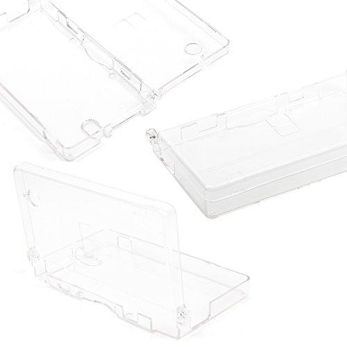 DURAGADGET Schutzhülle/Tasche Sparpaket transparent für Nintendo DSi + Reinigungstuch Geschenk-Maßgeschneidert-Hohe Qualität