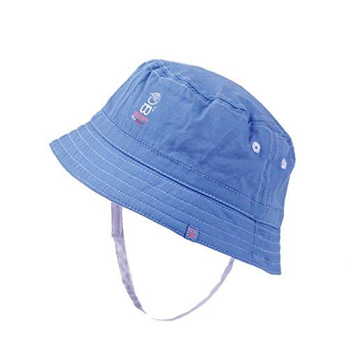 Weiche Eimer Hut (GAOXUQIANG Weiche Reversible Baby Sonnenhut Denim Jungen Mädchen Eimer Hut Neugeborenen Sommer Hut Kinder Panama,Denim,43cm)