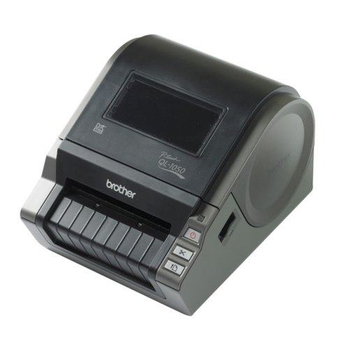 For Sale Brother QL 1050 – Label printer – B/W – direct thermal – Roll (10.2cm) – 300 dpi – up to 110 mm/sec – serial, USB Review