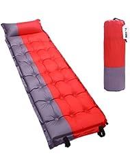 Kottle Portable épissé autogonflant Mat/coussin matelas de couchage pour le Camping, randonnée, tentes