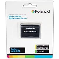 Polaroid High Capacity Battery Sony FH50 Batterie rechargeable au lithium de remplacement (compatible avec: Sony Alpha DSLR-A290, A390, A380, A330, A230, HX1, HDR-TG5V, DSC-HX100V)