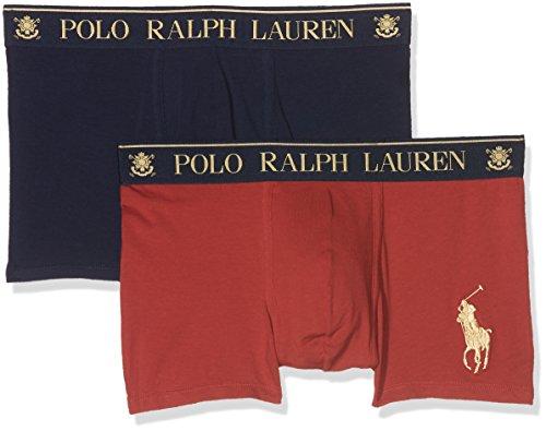 Polo Ralph Lauren Herren Shorts, 2er Pack Blau (FRANK RD/CR NVY AF174)