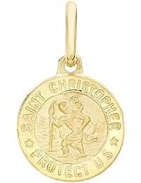 Carissima 9 Karat Gelbgold St. Chrisoph Medallion Anhänger  - 1.61.7609