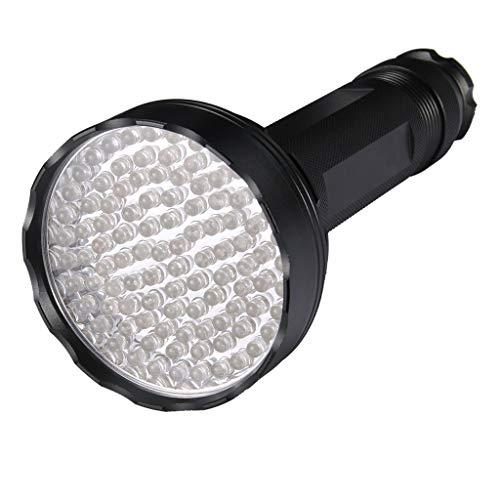 Lomsarsh Blacklight Flashlight Pet Stain Urin Detector, Bright 100 Black Light Torch Bed Bug und Scorpion Finder mit UV-Gläsern