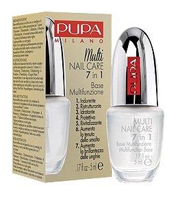 Pupa Multi Nail Care 7-en-1 multifonction, base pour ongles, 5 ml