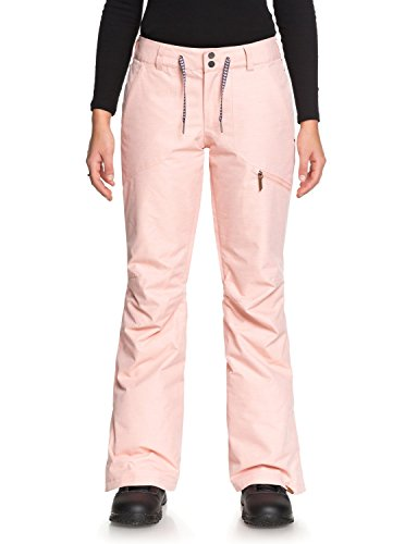 Roxy Nadia - Snow Pants for Women - Snow-Hose - Frauen - L - Rosa -