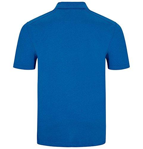 Jan Vanderstorm 100% Baumwolle Herren Poloshirt Jano von Cooles Herren Rugby Shirt, Auch in Übergrößen Erhältlich. Hergestellt in der EU Blau