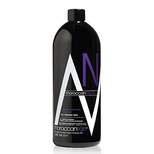 Moroccan Tan Nights - 1 Liter - Spray Tanning Lotion 15% DHA (Dreifach-bronzer)