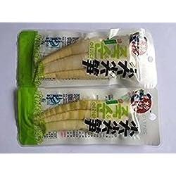 Brotes de bambú tierno envasado al vacío 3 libras (1362 gramos)