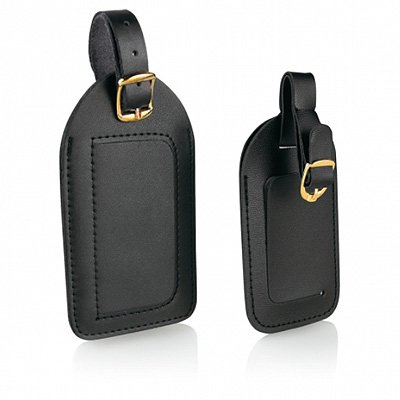 travel-smart-black-deluxe-luggage-tag-2-pack