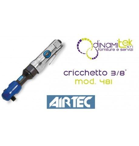 12301000481TALADRO NEUMATICO A CARRACA 3/8AIRTEC